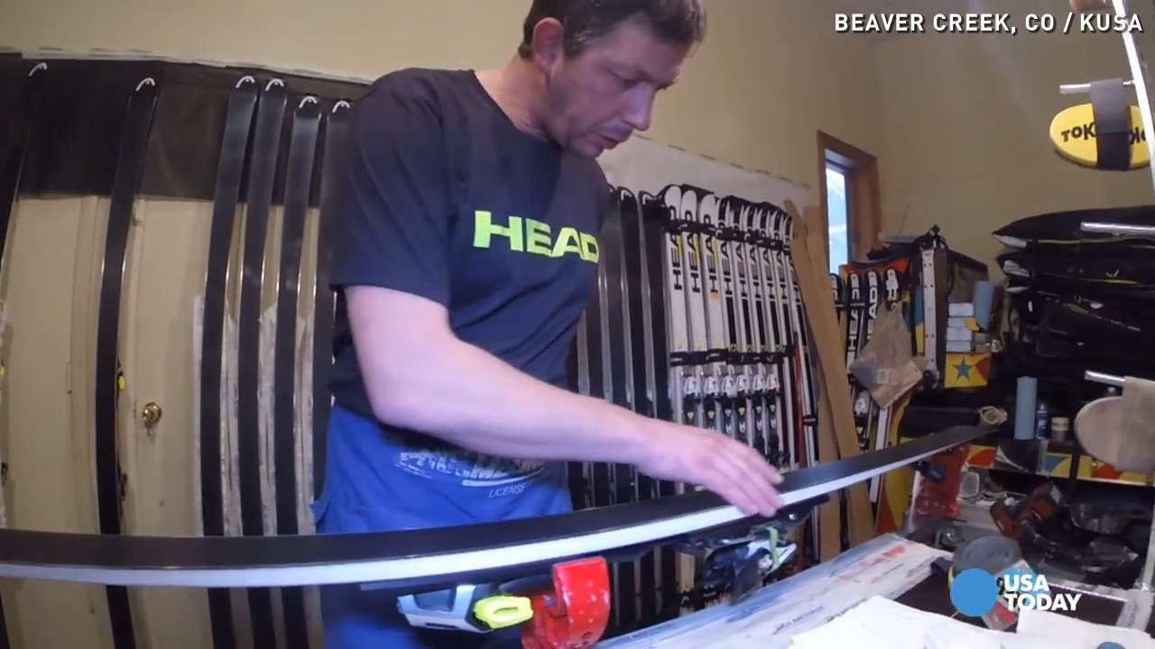 This guy makes sure Ted Ligety's skis cut like knives