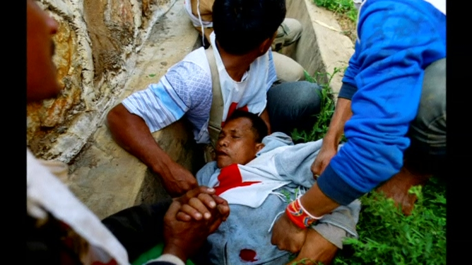 Red Cross convoy attacked in Myanmar