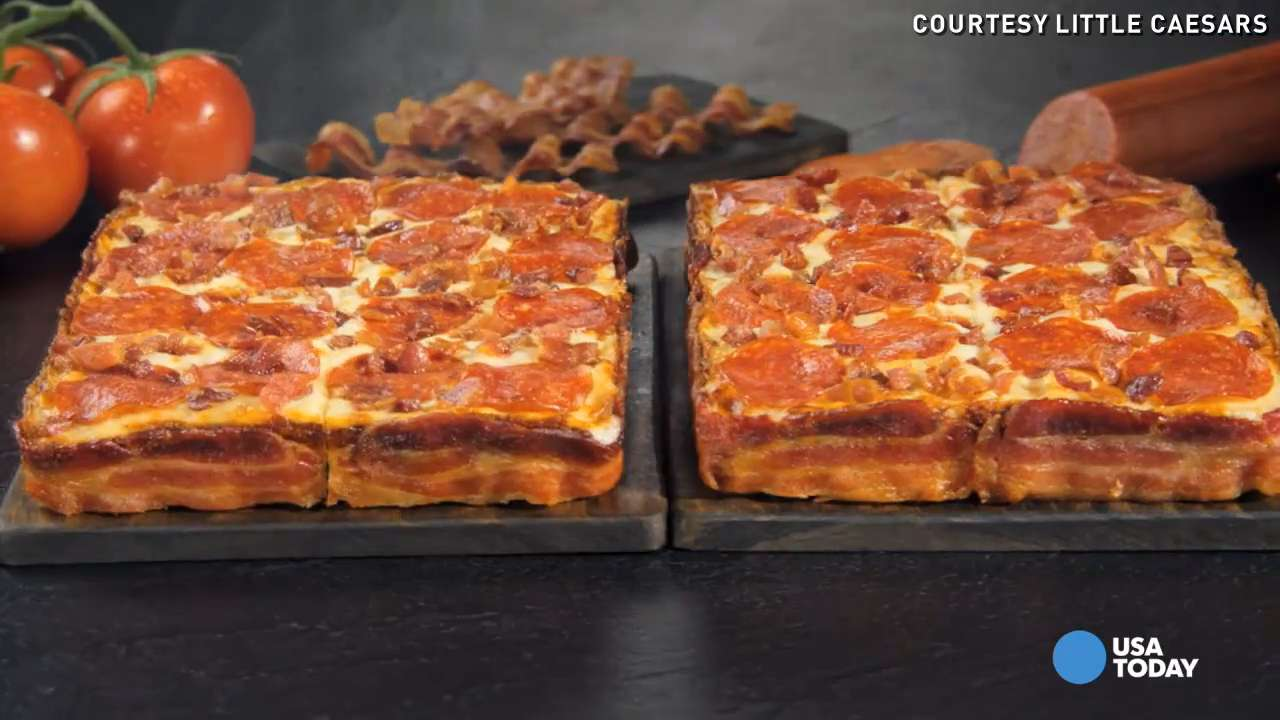 Bacon-wrapped pizza latest offering in bacon craze