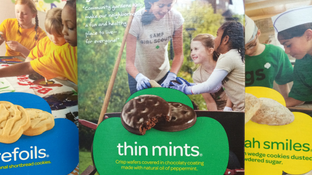 See how to bake real Girl Scout Cookies at home