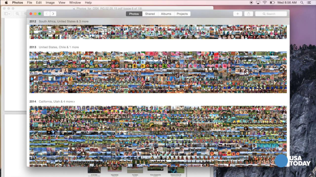 Apple's new Photos app ready for close-up