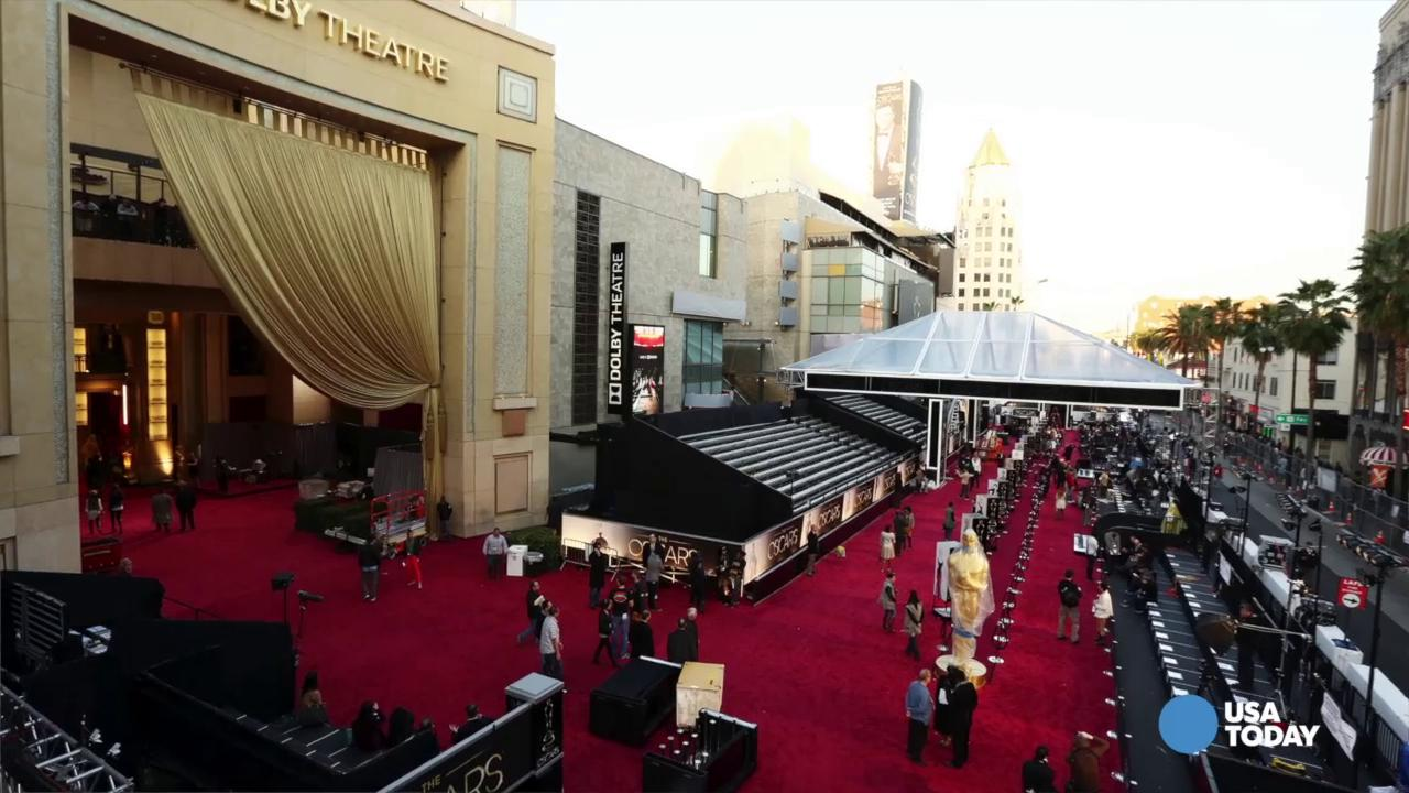 Pre-show Oscars red carpet isn't so glam | Daily DIsh