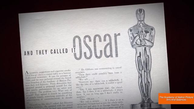 The Academy explains why the oscars are called the oscars