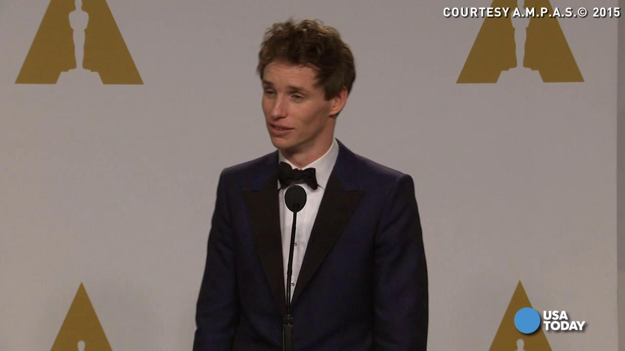 What prepared Eddie Redmayne for Oscar nod?