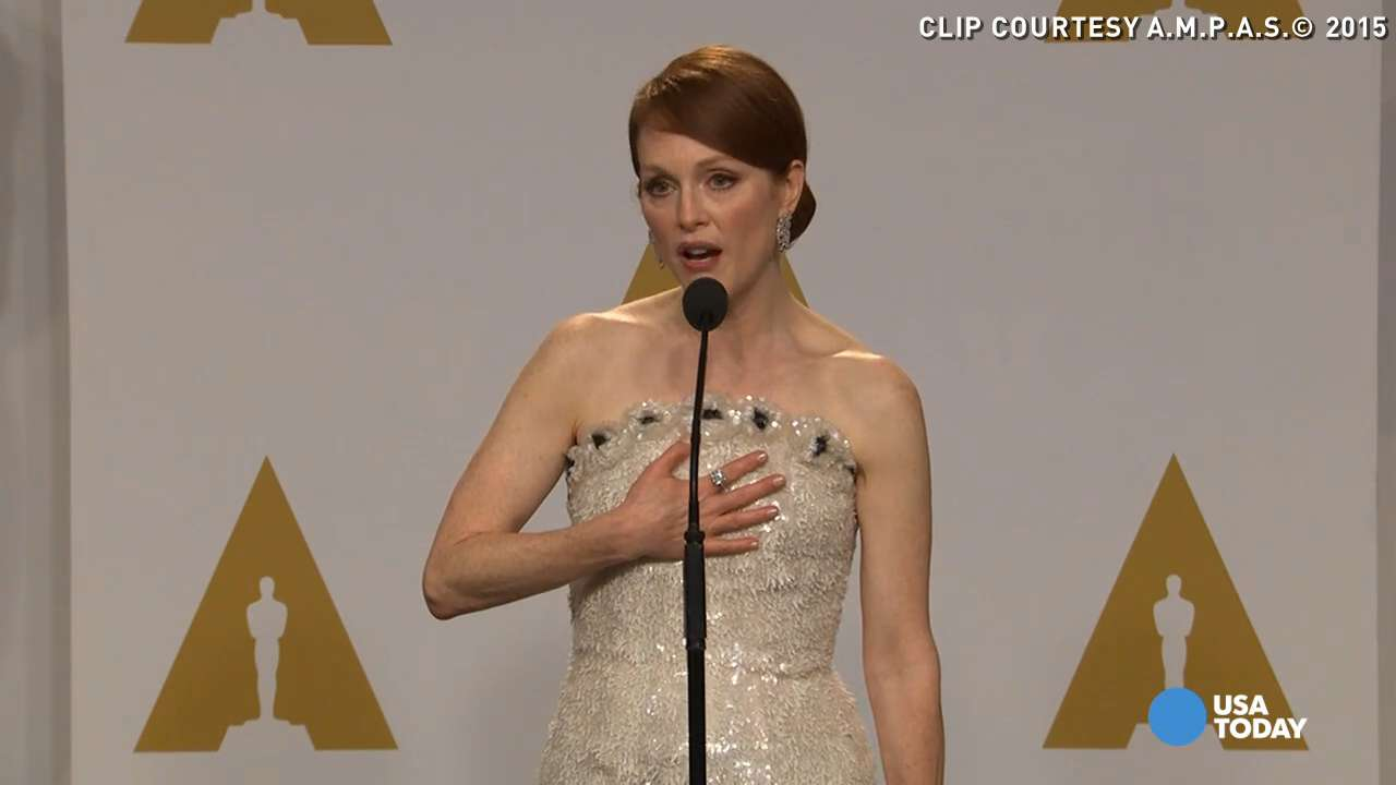 Julianne Moore says husband predicted her Oscar win