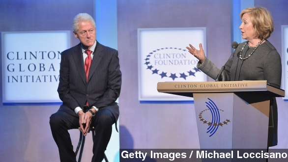 Critics say Clinton Charity shouldn't accept foreign money