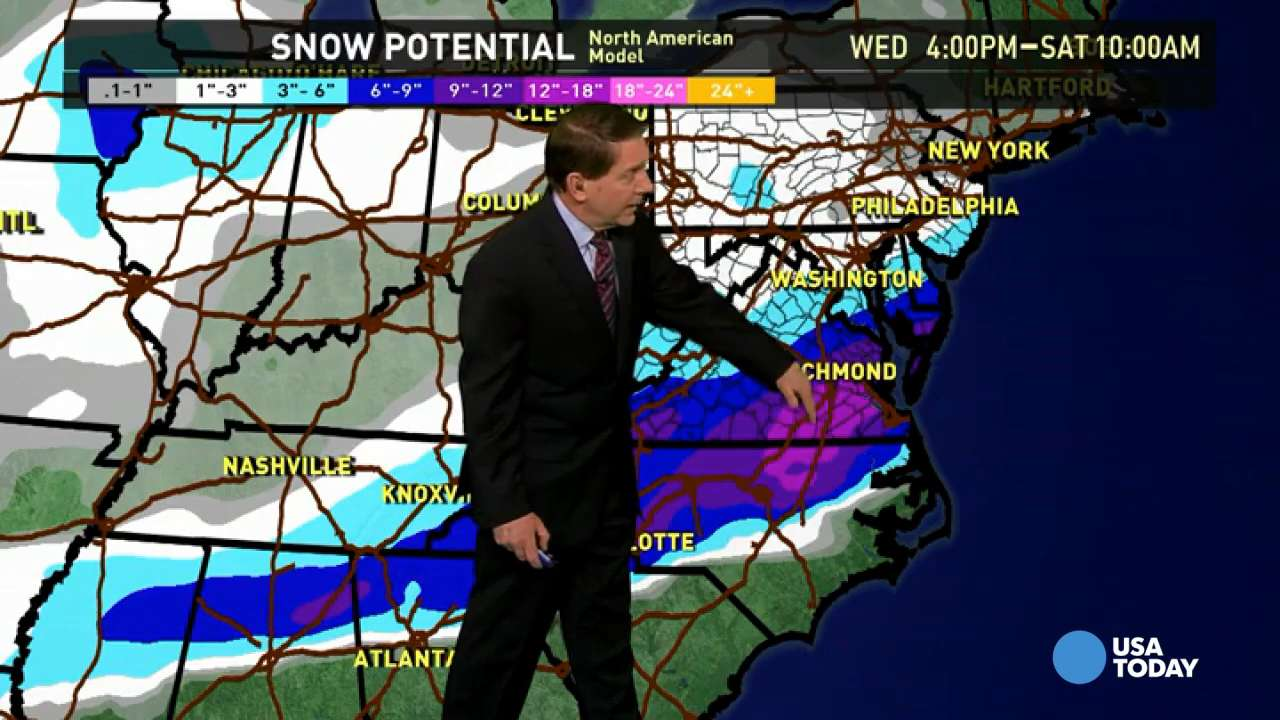 Thursday's forecast: Storm exits Southeast coast