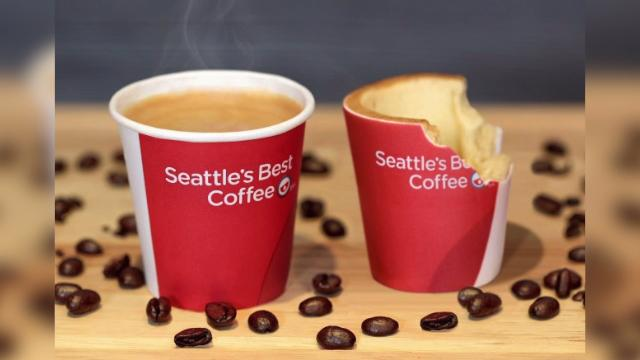 KFC introducing edible Cookie coffee cups to the UK