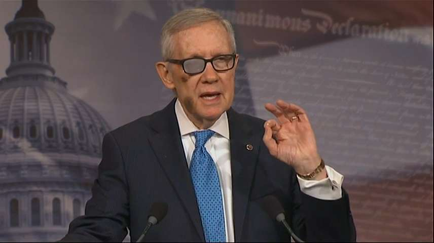 "Reid: ""Terrorists have money, why shouldn't DHS?"""