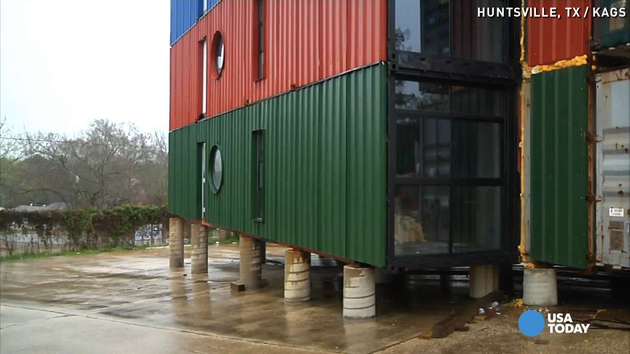 Cargo Container Apartments apartments for students start with shipping containers