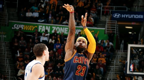 LeBron James shines in possible Finals matchup