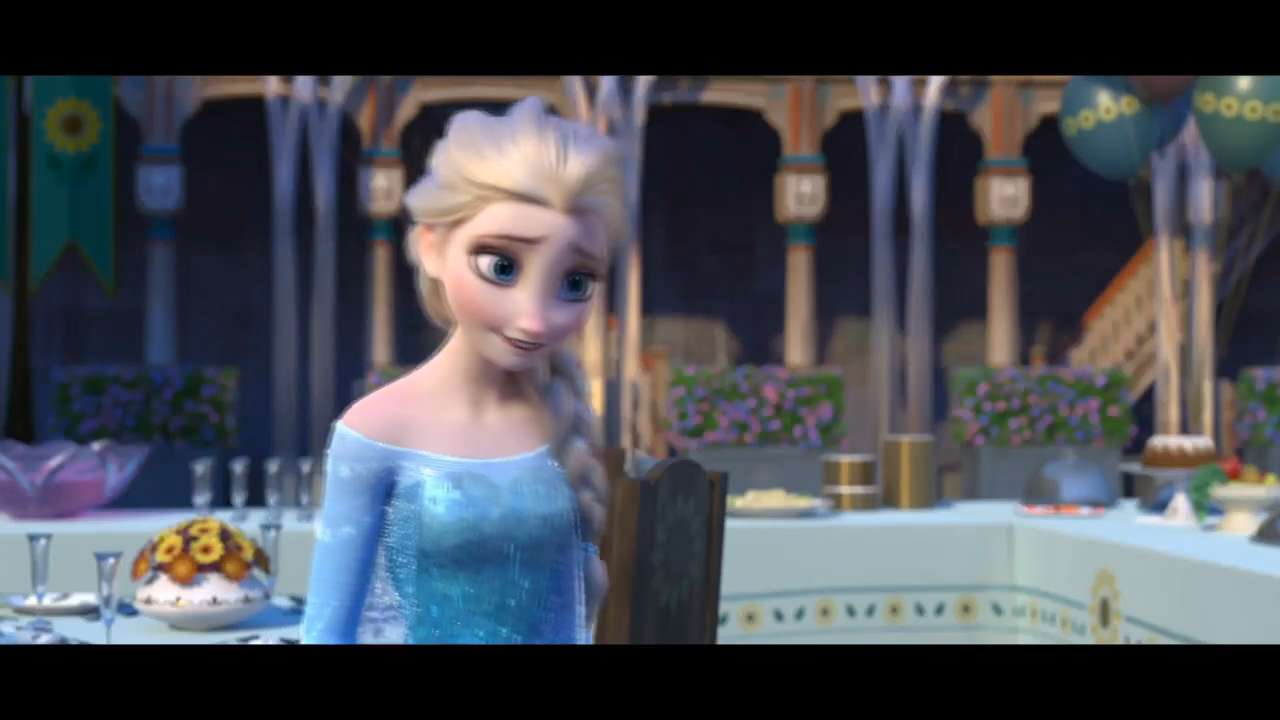 Exclusive: First photos from 'Frozen Fever'