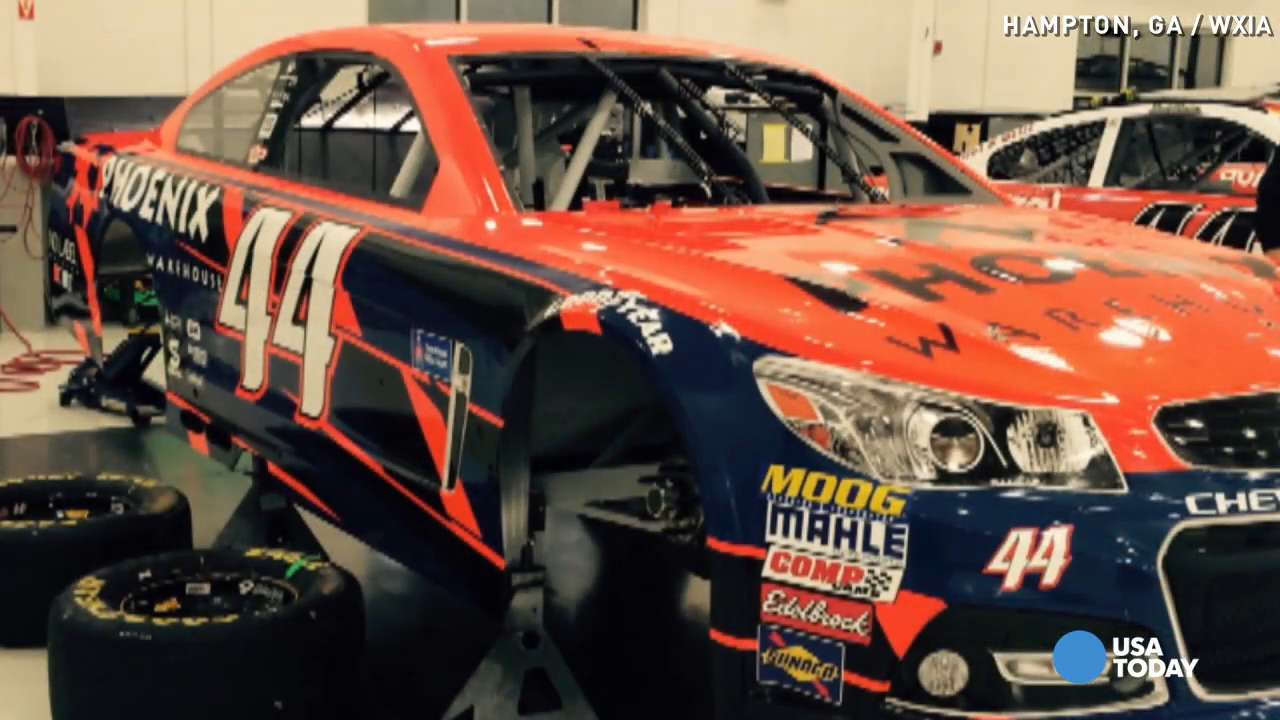 NASCAR driver's car stolen before race