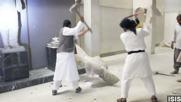 ISIL's history of destroying artifacts