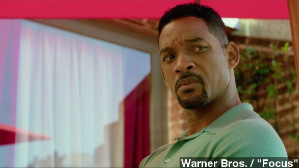 Box office top 3: Will Smith's 'Focus' steals No. 1 spot