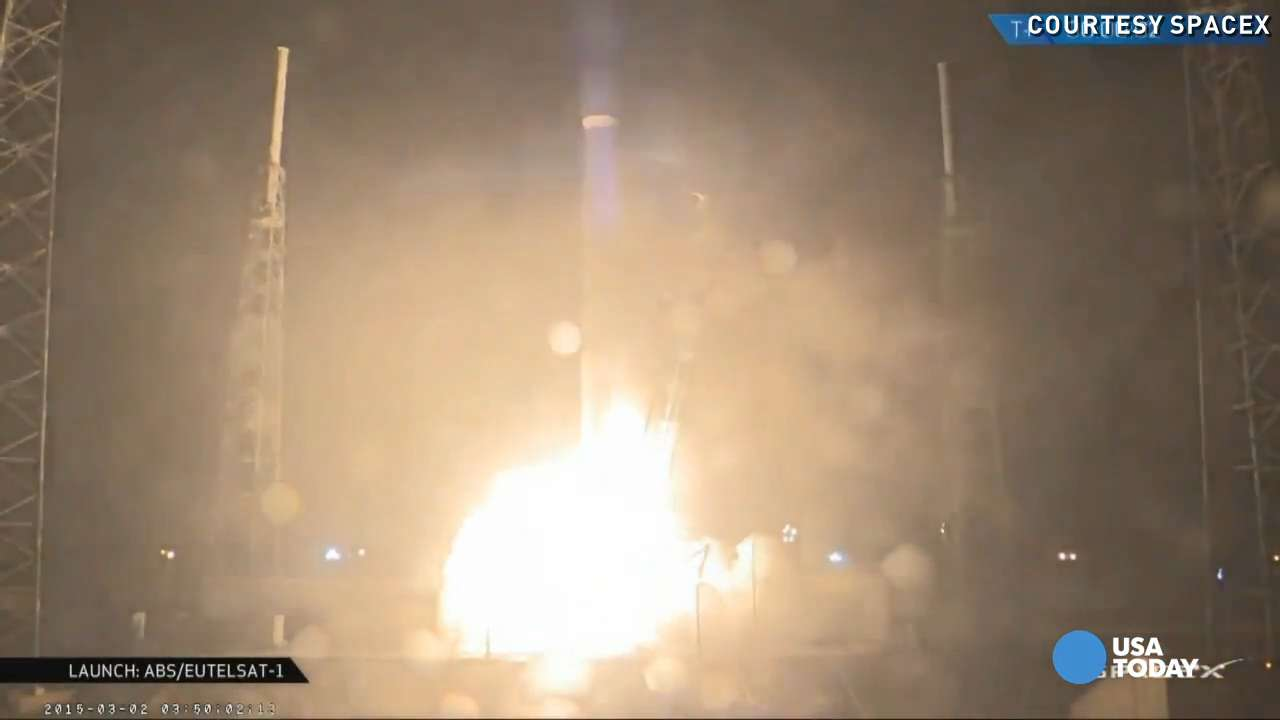 Watch: SpaceX Falcon 9 rocket launch into sky