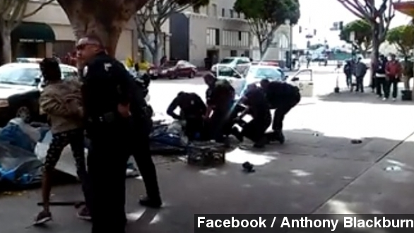 LAPD fatally shoots man, altercation caught on video
