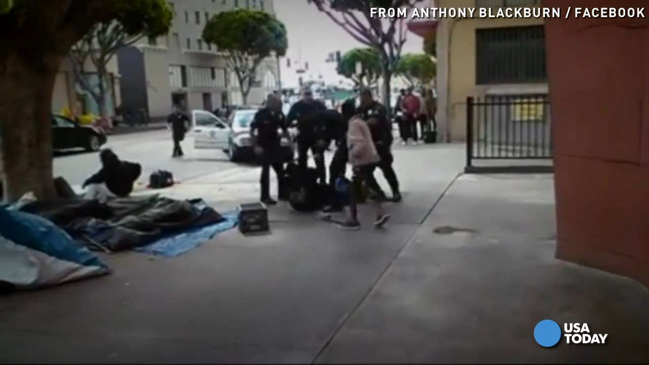 Deadly L.A. police shooting caught on camera