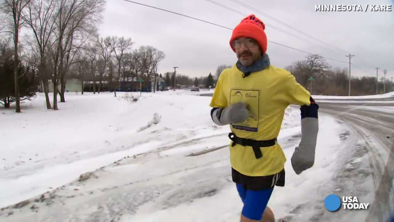 Runners go to crazy lengths for decades-long streaks