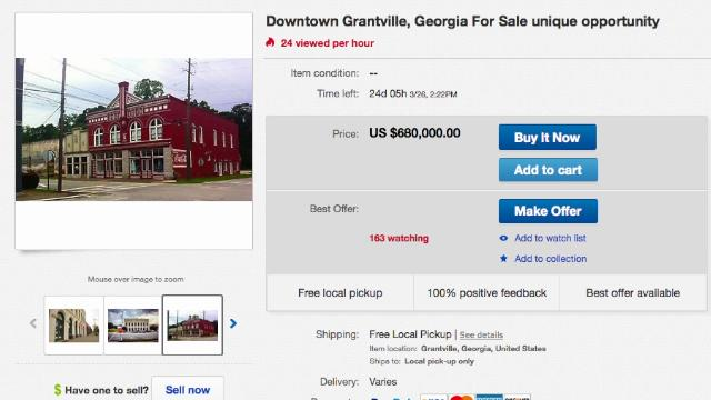 $680,000 Ebay listing for 'The walking Dead' town