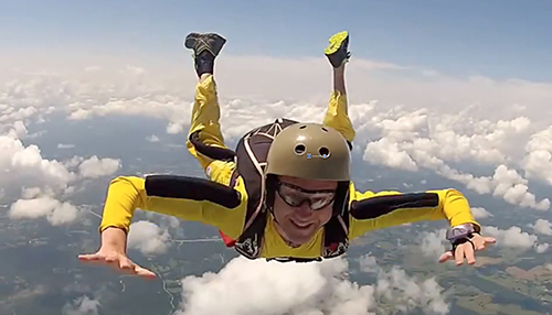 High flying drama, skydiving emergencies that all ended well