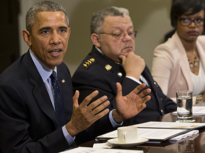 Obama: 'Moment is now' to make police changes
