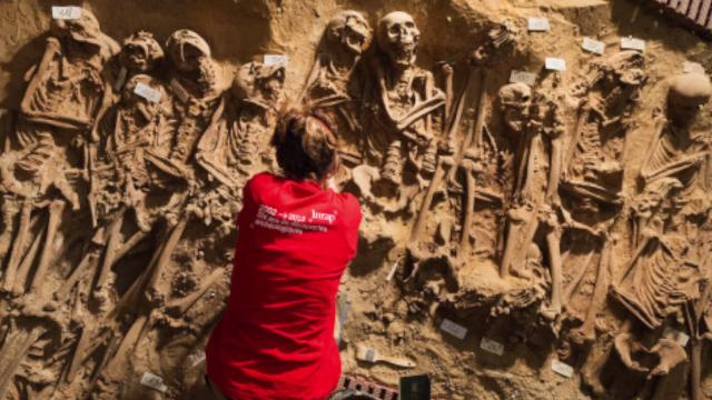 Mass grave found under Paris supermarket