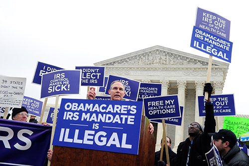 Supreme Court remains divided over health care law