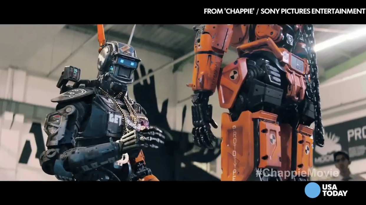 Chappie's the newest robot invading cinemas | USA Entertainment Now