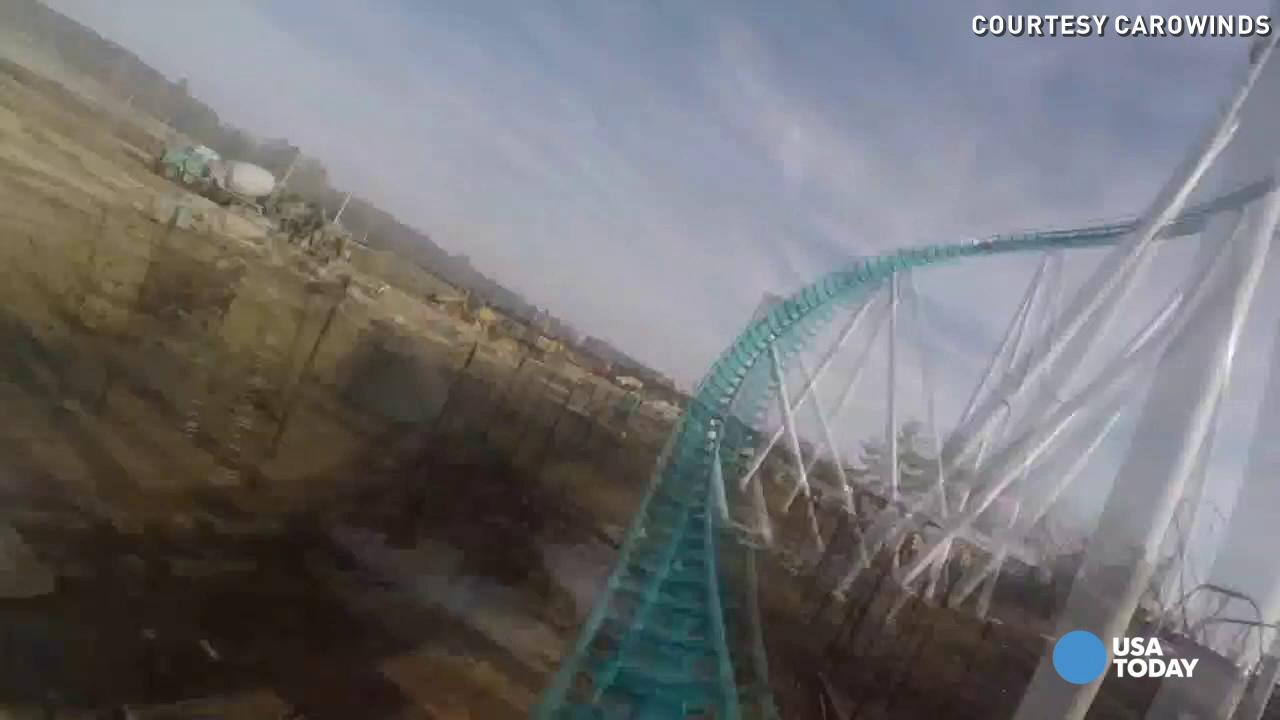 See what it's like to Fury 325 at Carowinds in Charlotte, North Carolina.