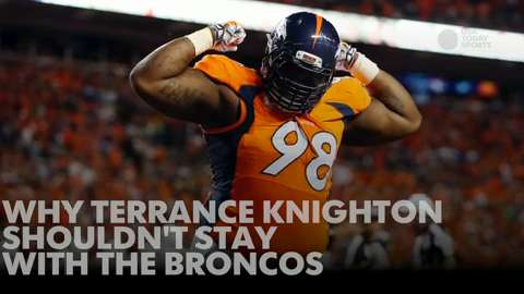 Why Terrance Knighton shouldn't stay with the Broncos