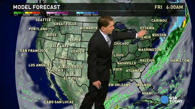 Friday's forecast: Unseasonably cold for much of U.S.