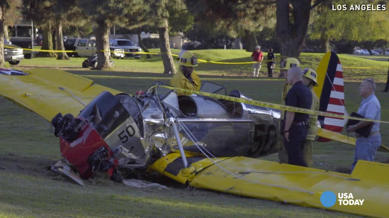 Harrison Ford's plane had engine failure before crash