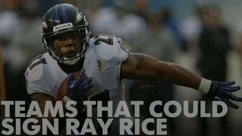 Teams that could sign Ray Rice