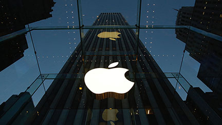 Apple replaces AT&T on Dow stock index