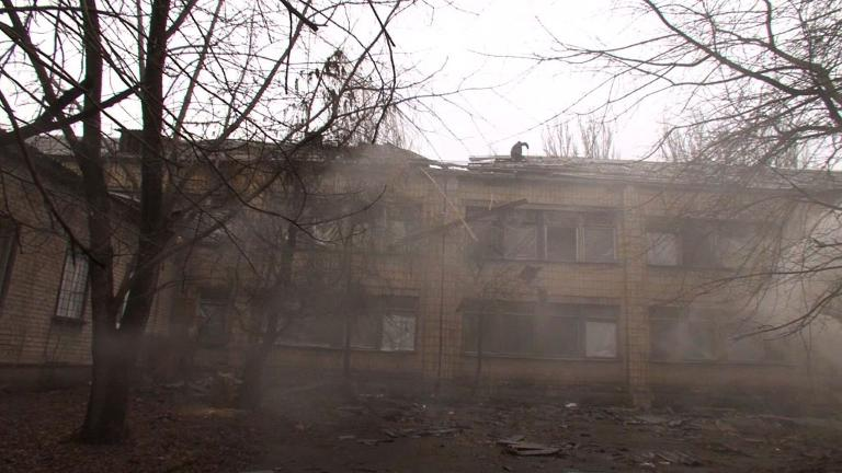 Despite the announcement of a ceasefire in several parts of Donetsk, in one district of the city dozens of people are living underground having lost everything since the conflict began. 