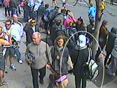 FBI releases video from before Boston bombings