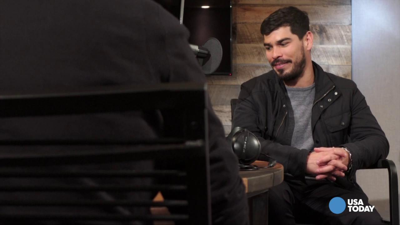 Actor Raul Castillo tells Jefferson Graham why he can't go unwired.