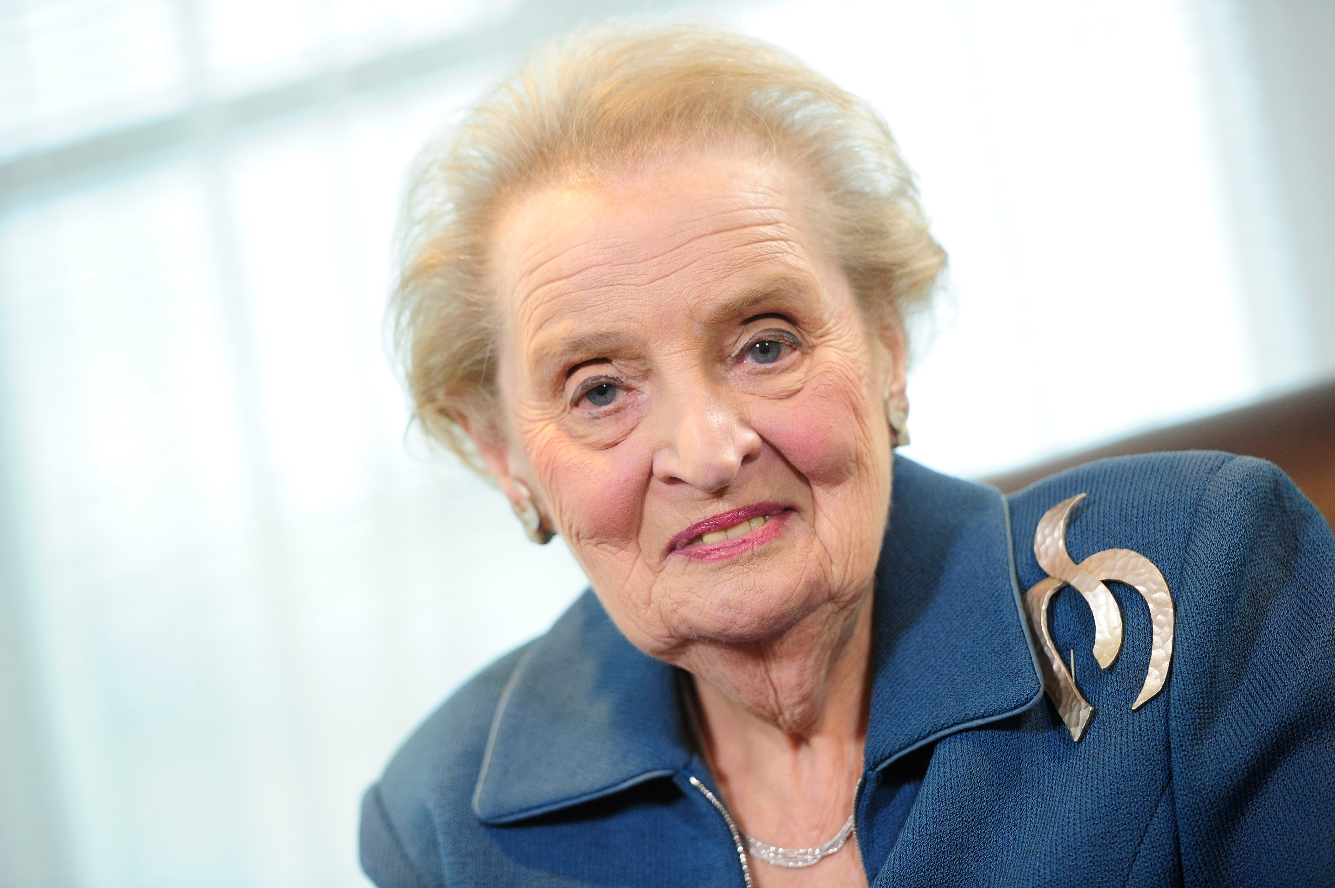 Pictures of madeleine albright Madeleine Albright Says Obama Should Have