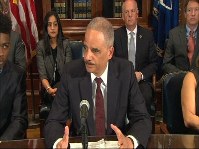 Holder: Ferguson police shooting 'repugnant'