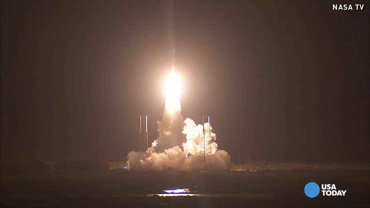 NASA launches Atlas V to solve magnetic mystery