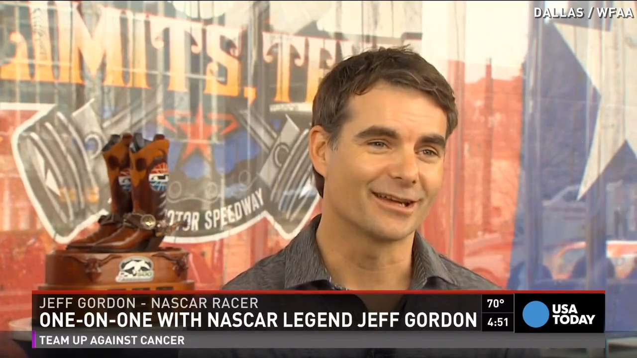 NASCAR legend Jeff Gordon: I would race for free