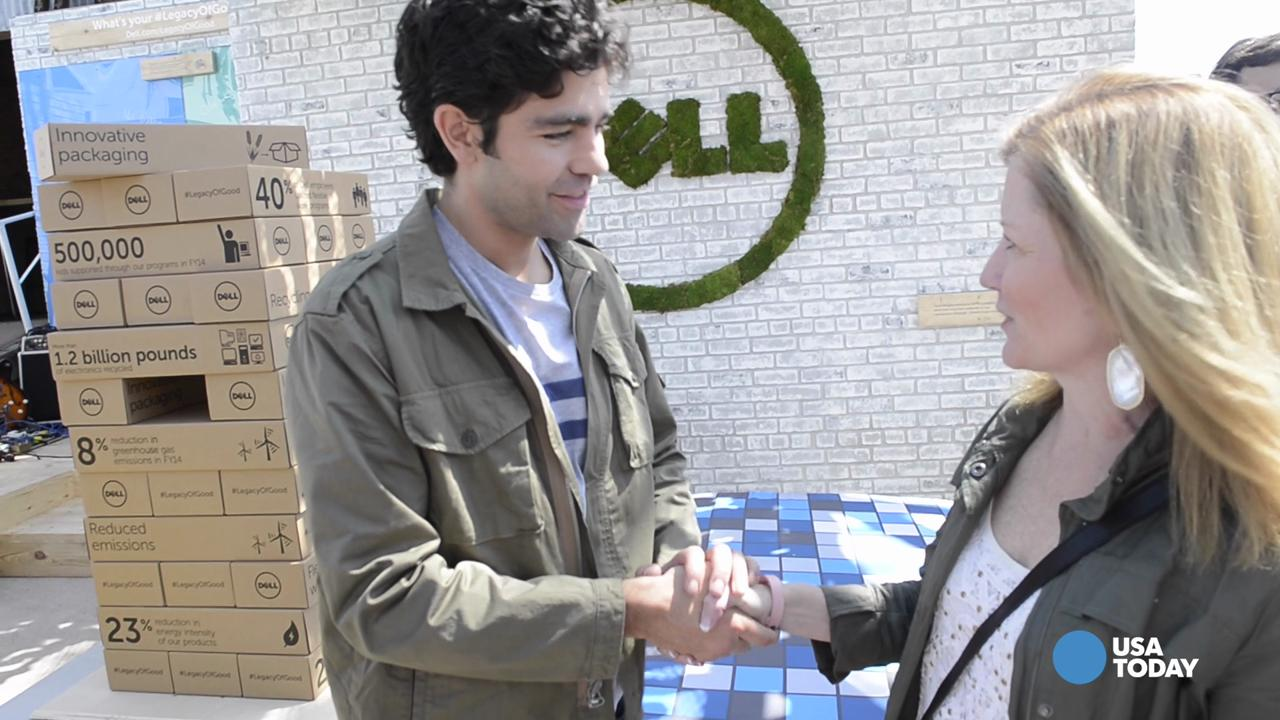 Entourage actor Adrian Grenier is Dell's first social good advocate