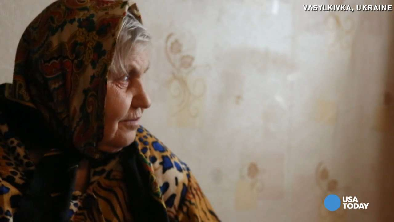 Ukrainian widow gets helping hand from USA TODAY readers
