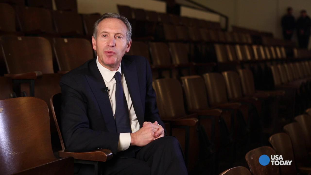 Starbucks CEO Howard Schultz on the Race Together initiative