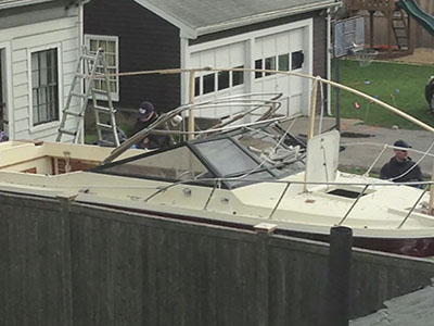 Jurors see boat evidence in Boston Bombing trial
