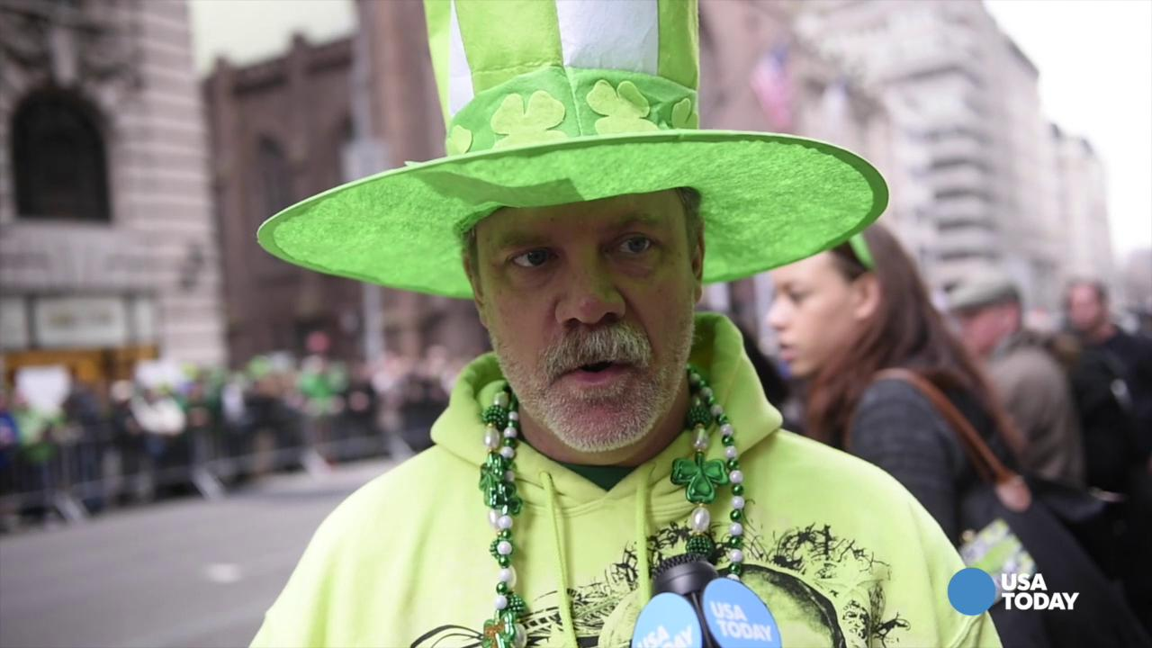 St Pat's Day Parade Voices