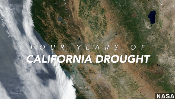 How 4 years of drought has left California out to dry