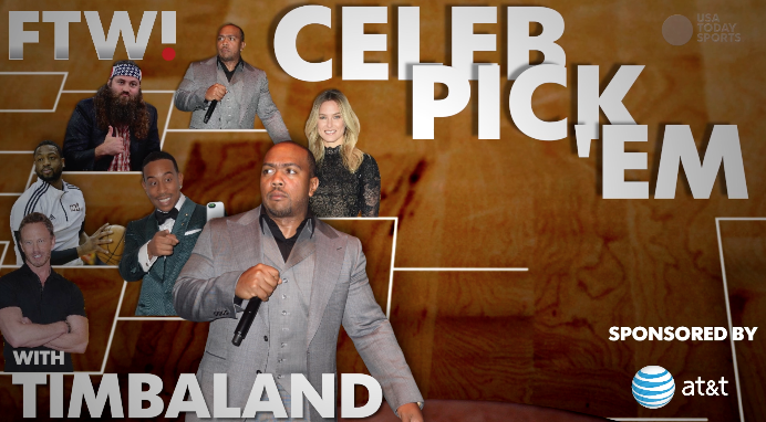 March Madness Celeb Pick 'Em with Timbaland
