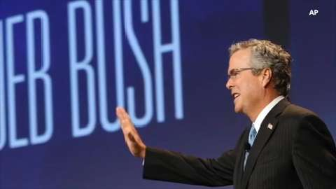Former Florida governor Jeb Bush.